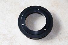 L@K Devere 504 Lens board mount ring 72mm Threaded Fits 4X5 Devere Enlarger