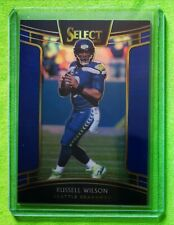 2018 Select Russell Wilson BLUE Parallel 112/175 SEAHAWKS