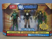 DC Universe Crisis Green Lantern Black Canary Green Arrow Figure 3 pack (2008)
