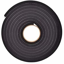 """New listing Sponge Neoprene Stripping W/Adhesive 1/2in Wide X Thick 15ft Long Industrial """""""