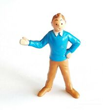 FIGURINE COLLECTION TINTIN ESSO BELVISION 1973 TINTIN 5,5 CM