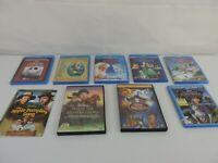 9 Disney Movies (Blu-Ray) - Lot of 9 - BlueRay / DVD