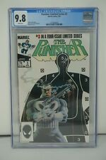 MARVEL COMICS CGC 9.8 THE PUNISHER LIMITED SERIES #3 03/86 WHITE PAGES