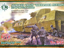"UM Technics 1:72 ""Alexander Nevskiy"" Of 25th Division Armoured Train Model Kit"