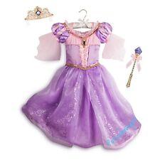 Disney Store Rapunzel Interactive Costume Size 5 6 RARE NIP
