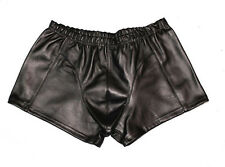 Real Soft Leather Men Shorts Boxer Style 32 ~ 34 ~ 36 ~ 38 ~ 40