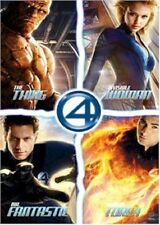 RARE 2005 MARVEL COMIC MOVIE FANTASTIC FOUR QUAD POSTER 22x34 NEW FREE SHIP