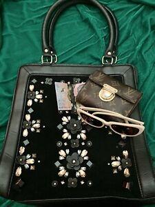 ALANNAH HILL   Vintage Style Shoulder Bag Hand Bag Purse