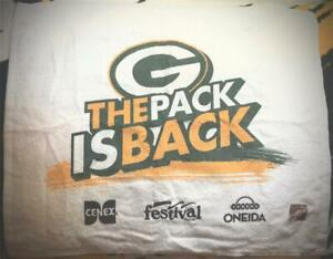 """2019-2020 GREEN BAY PACKERS """"PACK IS BACK"""" DIVISIONAL PLAYOFFS SGA RALLY TOWEL"""