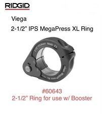 "60643 Ridgid 2-1/2"" IPS Viega MegaPress XL Ring Jaw Only For Booster Press Tool"