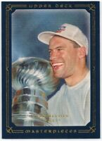 Upper Deck Masterpieces 2008/09: Blue Parallel Card of Mark Messier #79, 23/50