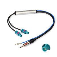 AM/FM DAB Antenne Fakra Adapter DIN Stecker auf DAB Splitter mit Amplifier Kabel