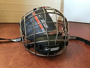 WoW ice HOCKEY HELMET CAGE SHIELD BAUER FM 8500S Oval TRUE VISION BRAND NEW*H095