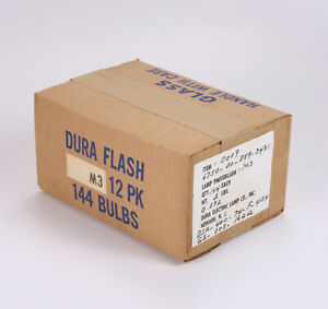 CASE OF 144 M3 FLASHBULBS/215590