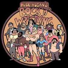 80's Cartoon Classic Hulk Hogan's Rock N' Wrestling custom tee AnySize AnyColor