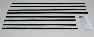 1960-1961 FORD GALAXIE STARLINER 2 DOOR FASTBACK WINDOW WEATHERSTRIP KIT, 8 PCS.