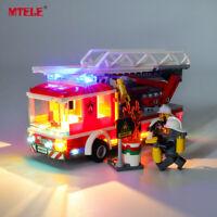 LED Light Up Kit For LEGO 60107 City Series Fire Ladder Truck Lighting Set Truck