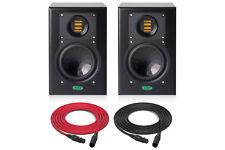 Unity Audio Mini-Rock Dsp | 2-Way Active Studio Monitor (Pair) | Pro Audio La