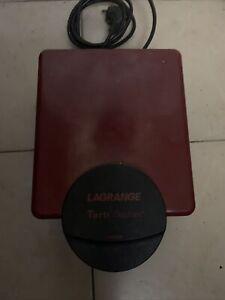 LAGRANGE GAUFFRIER 2 PLAQUES tartinables 150 x 100 mm 1070 W