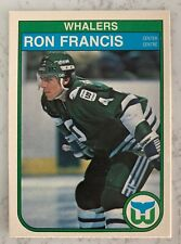 Ron Francis 1982-83 O-Pee-Chee #123 RC Rookie Card Hartford Whalers