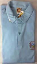 Vtg 1980s Hang Ten Golf Polo Shirt Lagunita Club Caracas Venezuela Medium NOS