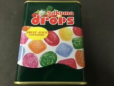 SAKUMA Drops Candy Fruit Juice Contained Can 120g Grave of the Fireflies JAPAN