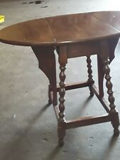 Extremely Rare Unique and vintage wood side table.