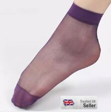 12 Pairs Ladies women Girls Sock Ankle High Ultra-Thin  Short Nylon Summer Socks