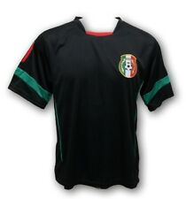 Mexico Men's Soccer Black Jersey New With Tags Mundial