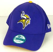 3bb84a6dbfe New Era MN Vikings Hat NFL 9FORTY Cap Hat One Size Adjustable Unisex Purple