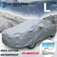 Heavy Duty Full Car Cover Waterproof Outdoor Dust UV Snow Protection 470*180*160