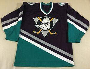 Vintage Anaheim Ducks Hockey-NHL CCM Jersey Size44