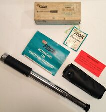 Vintage Focal 20 X 30mm Hand Telescope With Case & Original Box