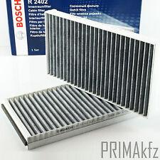 Bosch 1987432402 interior filtro filtro de polen carbón activado bmw 5er e60 e61 6er e63