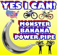 2-Stroke 48cc/49cc/50cc/66cc/80cc/ 100cc Motorized Bike Power Pipe For Engine Kit