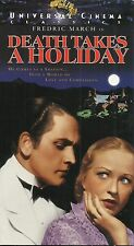 Death Takes A Holiday (VHS) Fredric March, Evelyn Venable, Mitchell Leisen