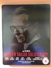 Gary Oldman Tinker Tailor Soldier Spy ~ LE CARRE Drammatico UK BLU-RAY STEELBOOK