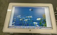 """Apple M8536 23"""" CINEMA HD Display Monitor LCD works/tested, stand missing &no PS"""