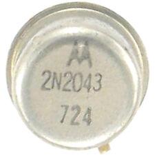 MOTOROLA 2-N-2043 Germanium, PNP 105/75V 200 mA 200 mA ohne Rohs NOS