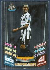 TOPPS MATCH ATTAX 2012-13- #389-NEWCASTLE-VURNON ANITA-STAR SIGNING-SILVER FOIL