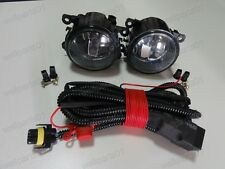 Front Spot Fog Lights Lamps w/harness Set For Ford Mustang Focus Fiesta C-Max