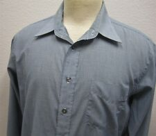 mens 17/35 CHRISTIAN DIOR Monsieur Le Chemise blue l/s casual dress shirt 863