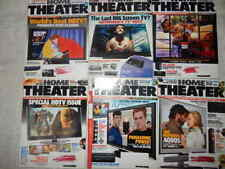 Home Theater Magazine 2002 -2013 Various Lot of 16 Monthly Magazine Back Issues