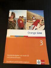 Orange Line 3 Standardaufgaben mit Audio-CD und Lehrersoftware Klett