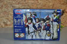 Box1 french napoleonic infantry 1804-1807 victrix model soldiers MIB