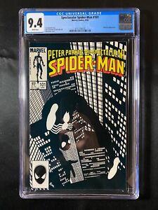 Spectacular Spider-Man #101 CGC 9.4 (1985) - Whiplash app