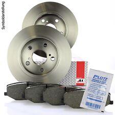 2 A.B.S. Bremsscheiben 260mm + Bremsbeläge hinten für Volvo V40 S40 / Mitsubishi