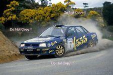 Colin McRae Subaru Legacy RS Winner New Zealand Rally 1993 Photograph 5