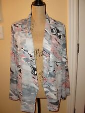 """NWT$59.00""""LUSH""""Nordstrom Multi Colors Long Sleeve Sweater Wrap size L.SUPER CUTE"""