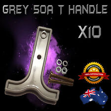 50AMP ANDERSON PLUG T-HANDLE GREY x 10 - BRAND NEW *